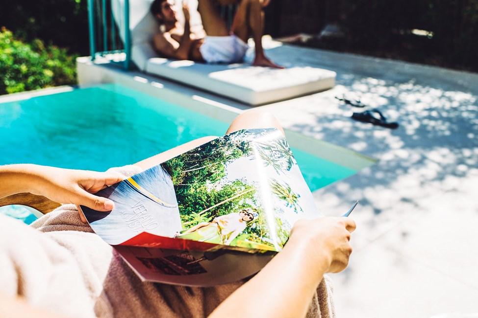 Dobbeltrom juniorsuite med privat basseng