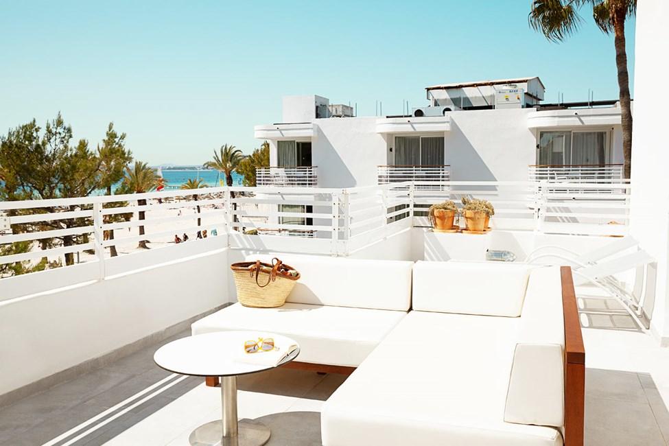 2-romsleilighet ROYAL ROOFTOP SUITE, stor balkong med havutsikt, Villa Princesa