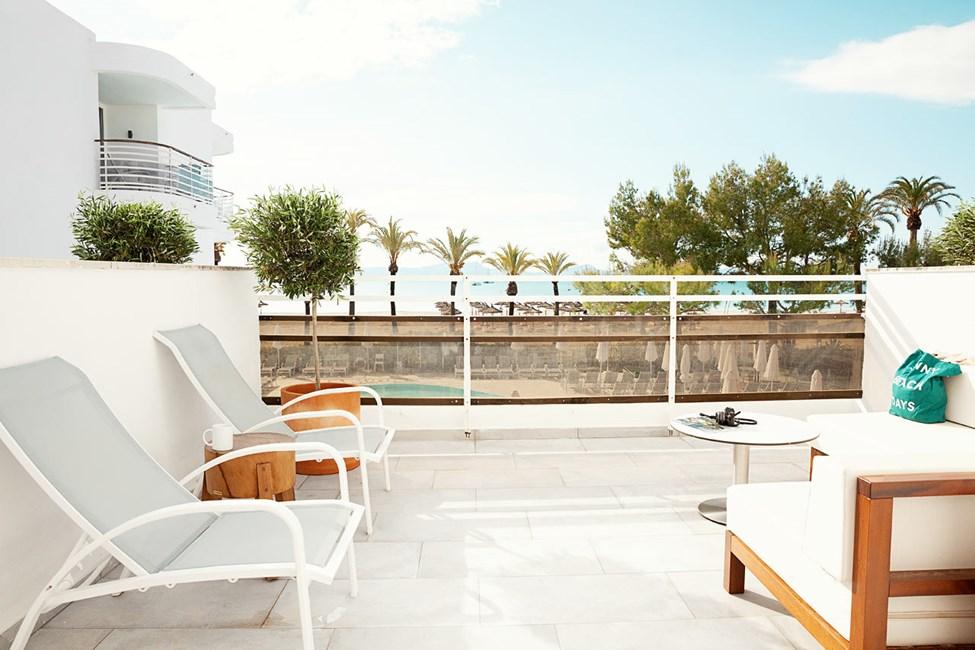 2-romsleilighet ROYAL LOUNGE SUITE, stor balkong med havutsikt, Princesa