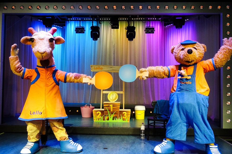 Lollo & Bernie underholder små og store med sine morsomme show