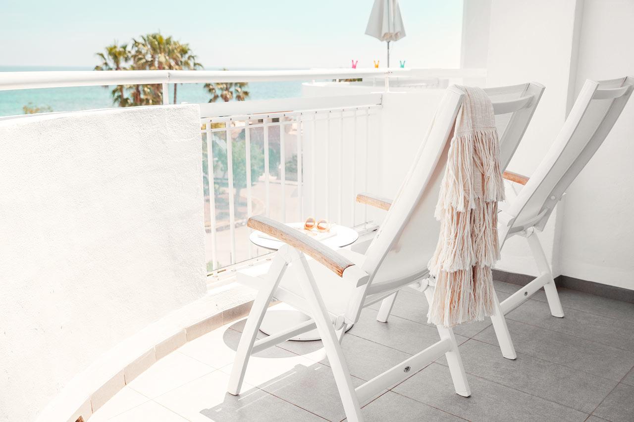 2-romsleilighet Royal Family Suite, to balkonger med havutsikt, Bouganvilla