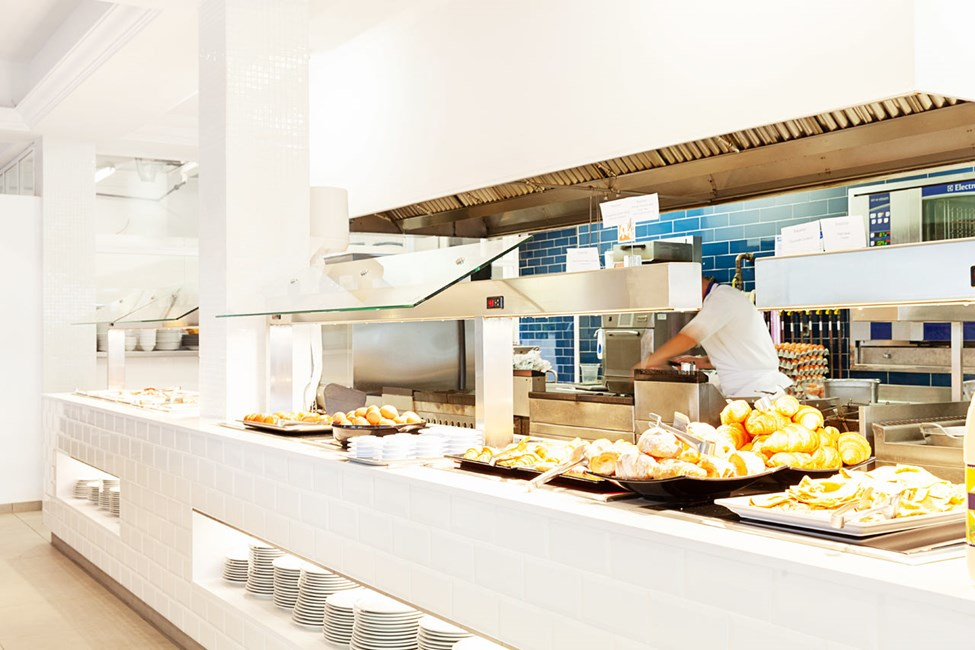 Buffeen i Antonio's Kitchen & Grill har et godt utvalg av retter