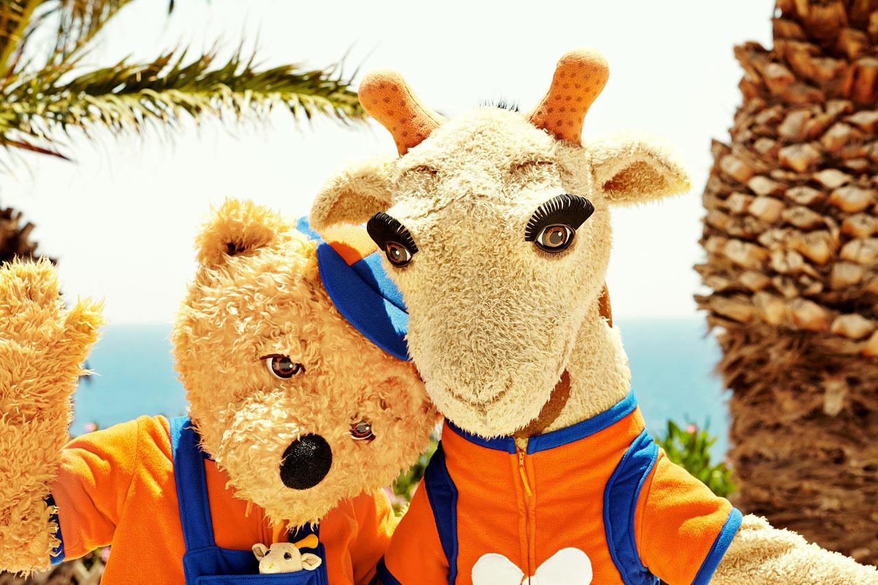 Vings maskoter Lollo & Bernie er alle barns bestevenner i ferien