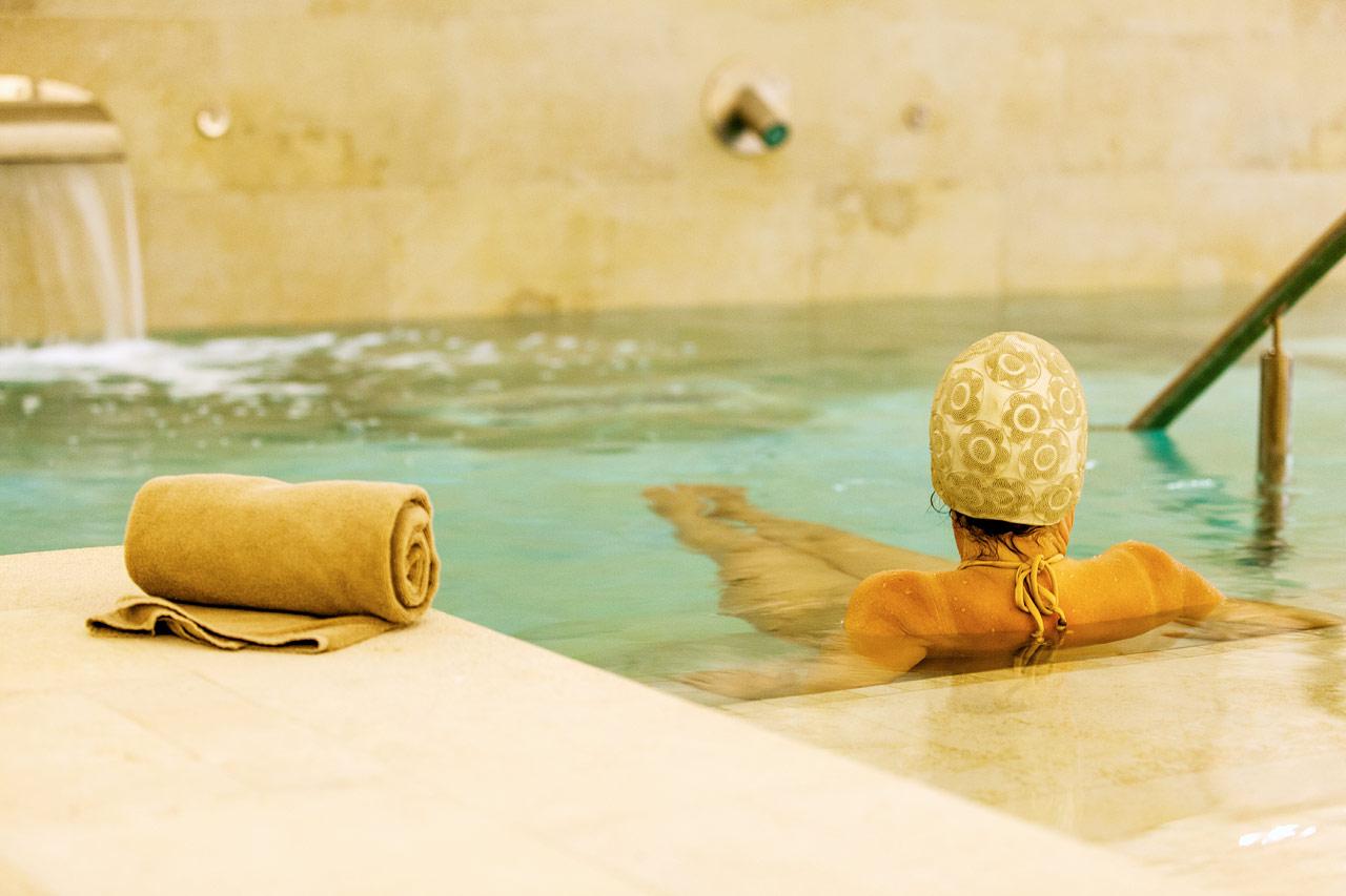 I hotellets spa kan du velge mellom flere deilige behandlinger.