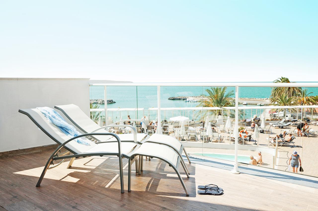 Prime Lounge Suite med stor balkong og havutsikt