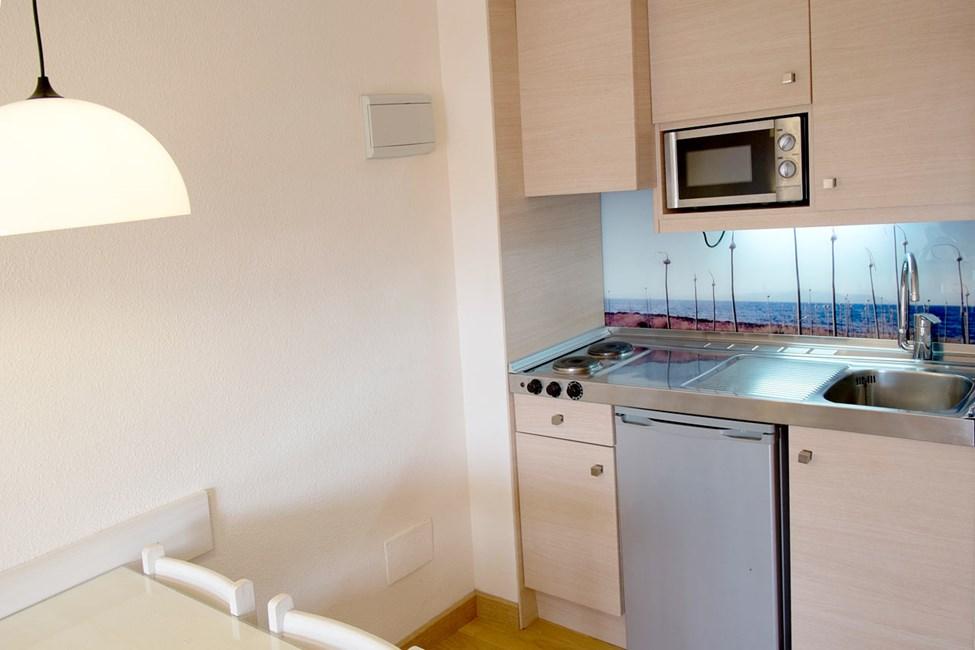 1-romsleilighet med kjøkkenkrok
