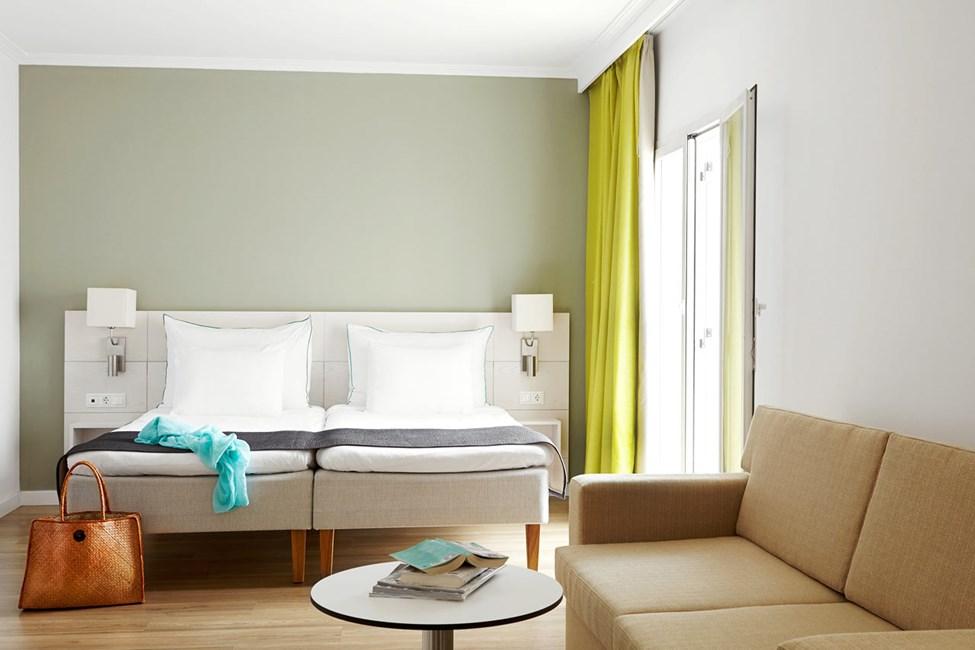 Classic Suite med balkong mot omgivelser/gate