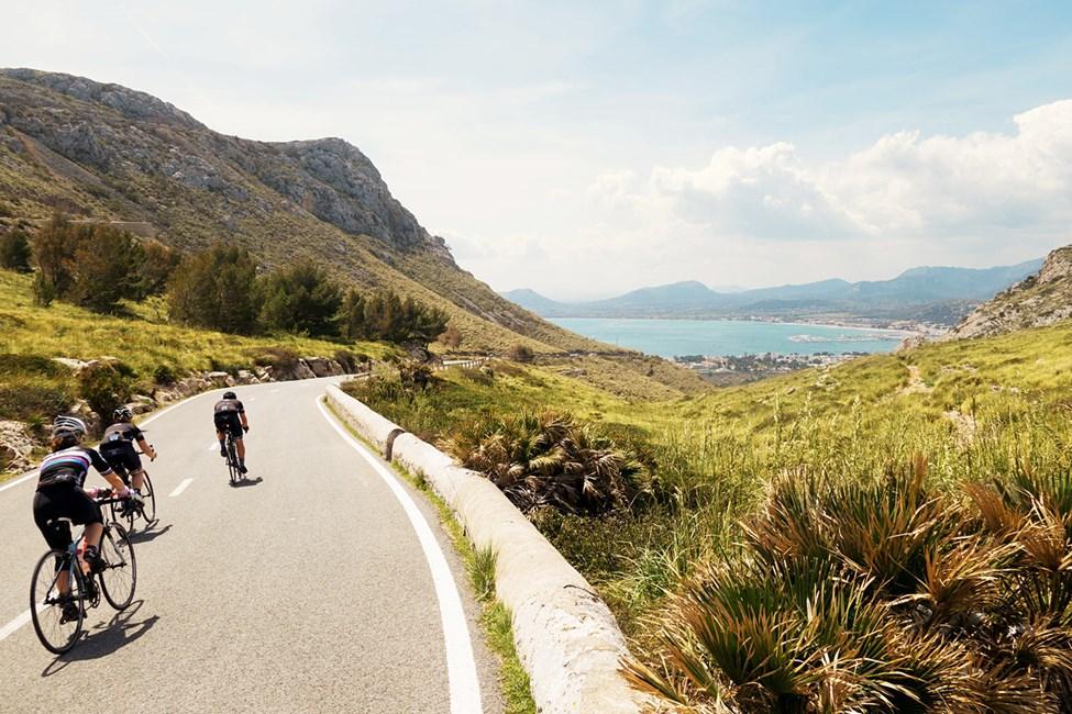Mallorca er perfekt for sykling
