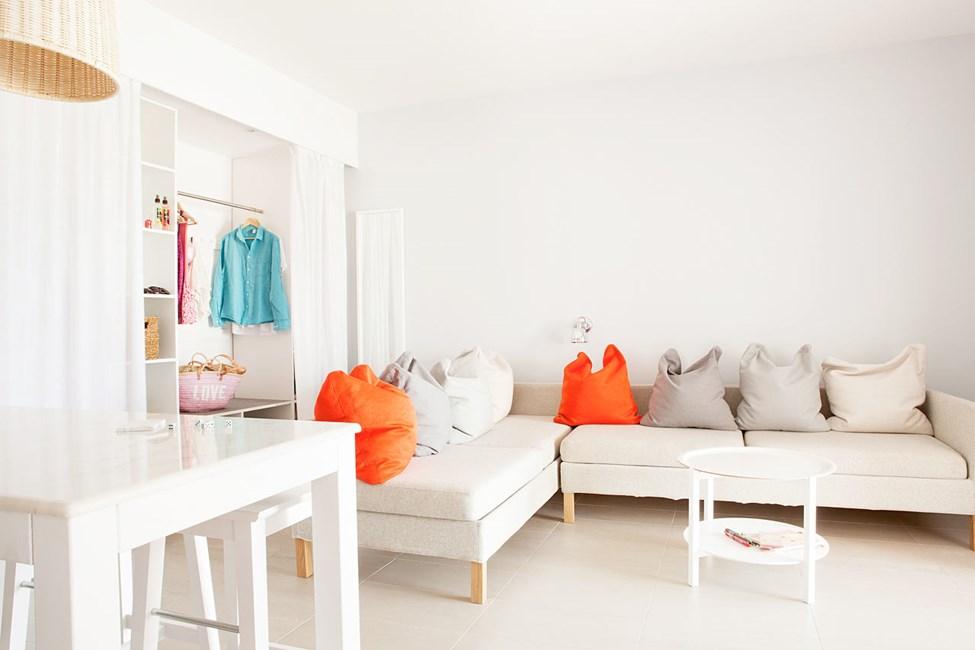 3-romsleilighet Royal Lounge Suite med stor terrasse mot omgivelsene, Helios