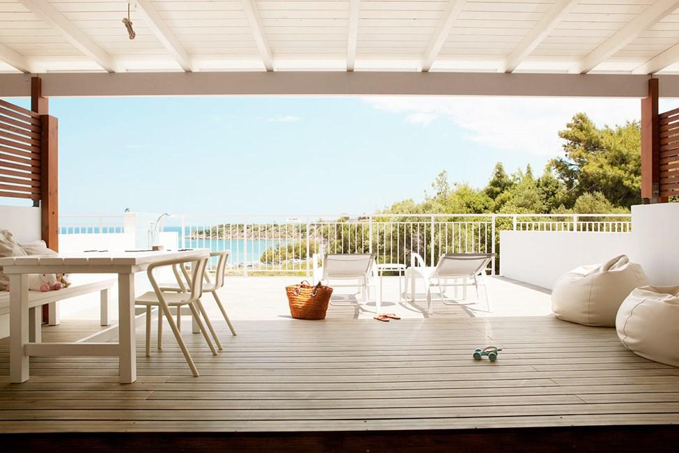 2-romsleilighet Royal Lounge Suite med stor balkong og begrenset havutsikt, Helios
