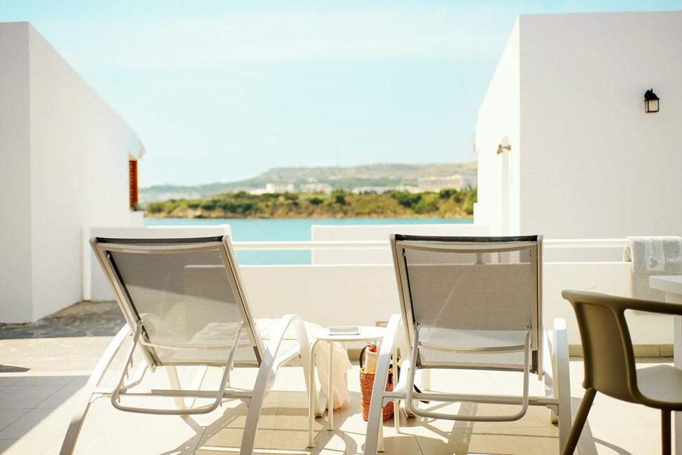 3-romsleilighet Royal Lounge Suite med stor terrasse, Poseidon