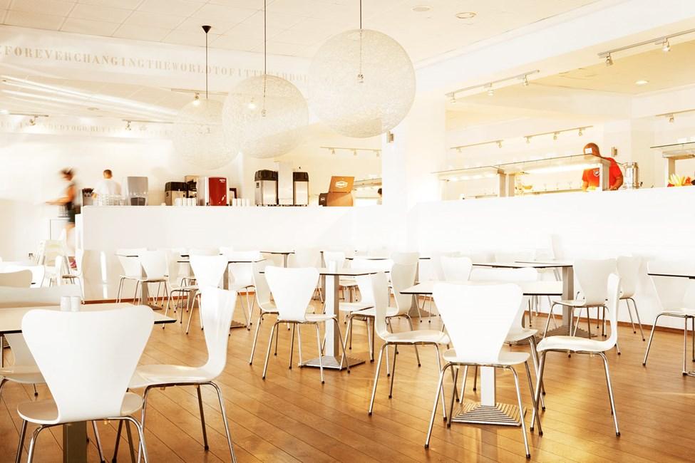 Bufférestauranten serverer mye godt til både frokost, lunsj og middag