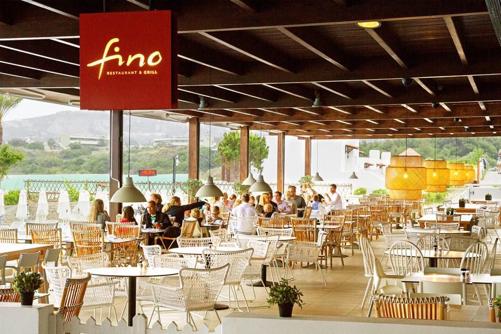 Restaurant Fino hvor du kan spise deilig mat fra en internasjonal meny med både klassiske og nyskapende retter