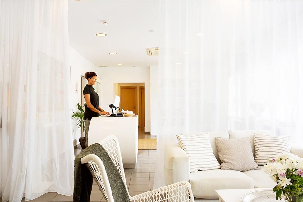 I hotellets spa kan du nyte deilige og velgjørende behandlinger