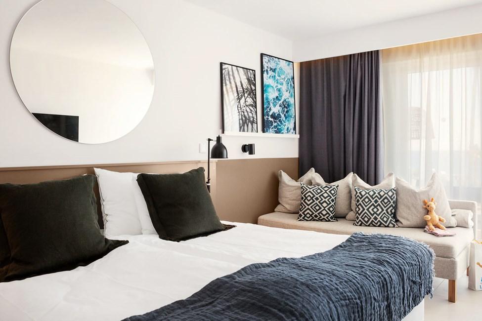 Renoverte leiligheter til sommeren 2020. Bildet er en illustrasjon på hvordan det kan bli seende ut på Ariadne