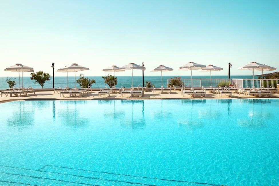 1-romsleilighet Royal Pool Suite, 1-romsleilighet FAMILY, balkong mot hagen, Ariadne