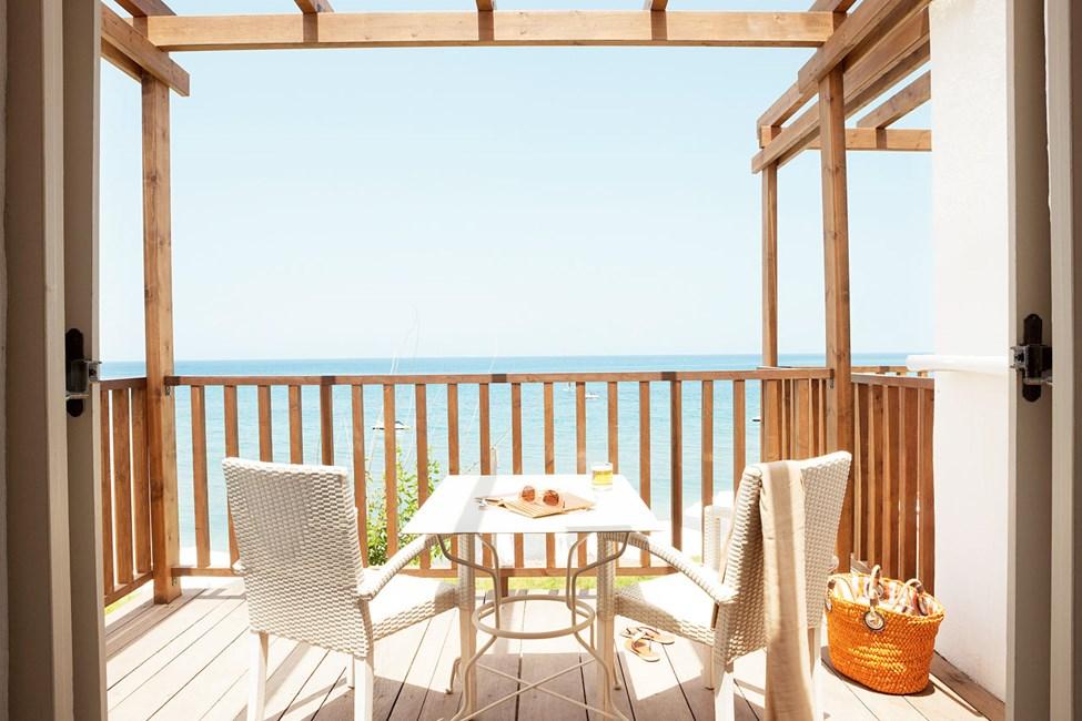 Junior Suite, balkong med havutsikt