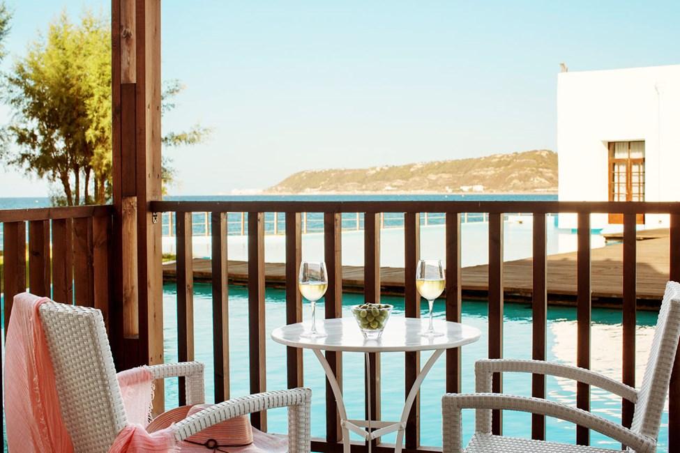 Classic Suite, balkong mot lagunen