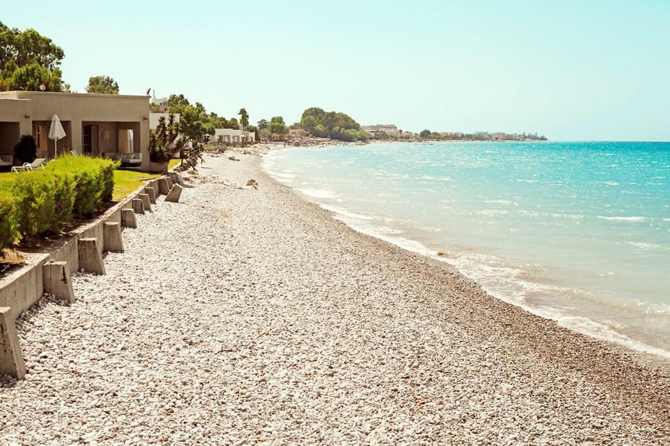Stranden ved Sunprime Miramare Beach