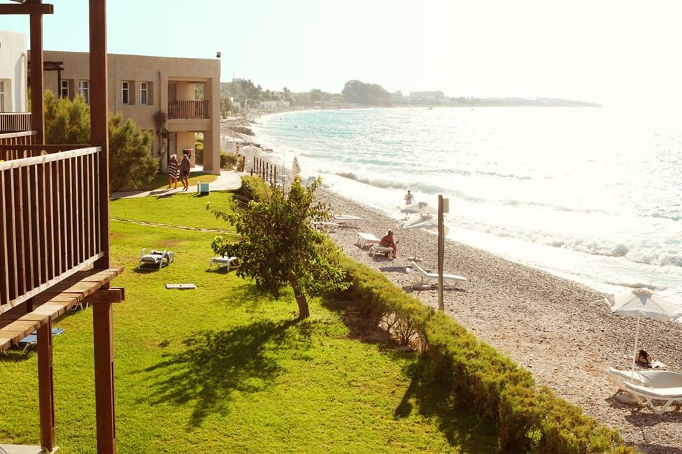 Utsikt fra en Junior Suite, balkong med havutsikt
