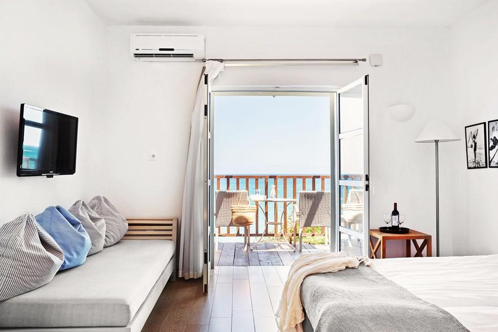 1 -roms Classic Suite, balkong med havutsikt