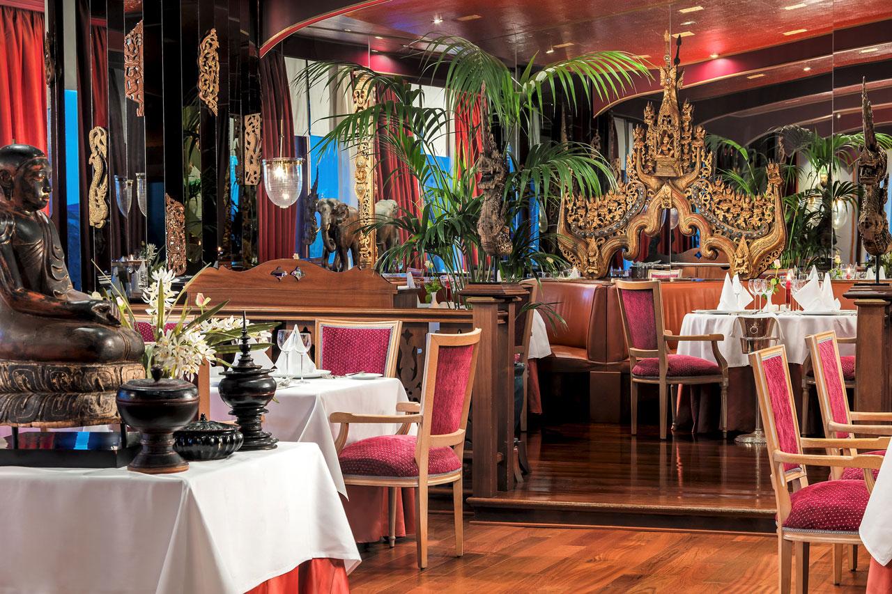The Oriental, asiatisk restaurant