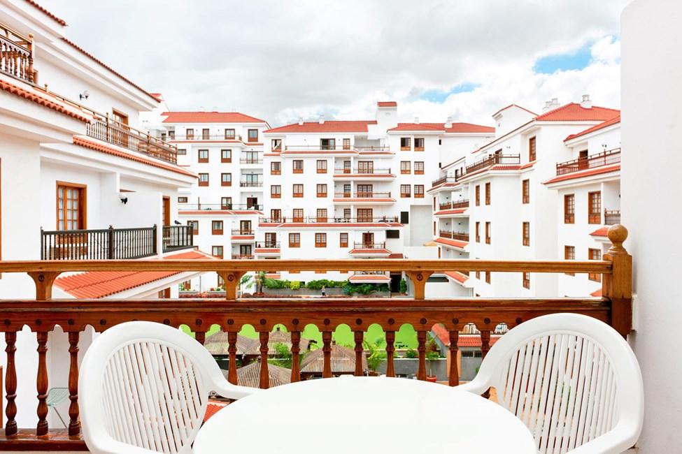 Balkongen til en 2-romsleilighet