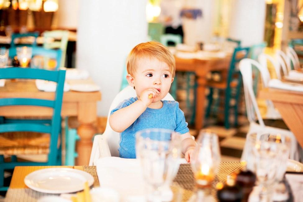 Både store og små trives på vertshuset Vicente's Kitchen & Grill