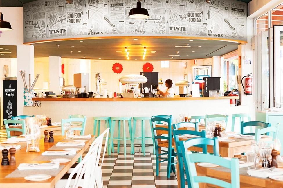 Vicente's Kitchen & Grill er hotellets nye vertshus. Velkommen til bords!