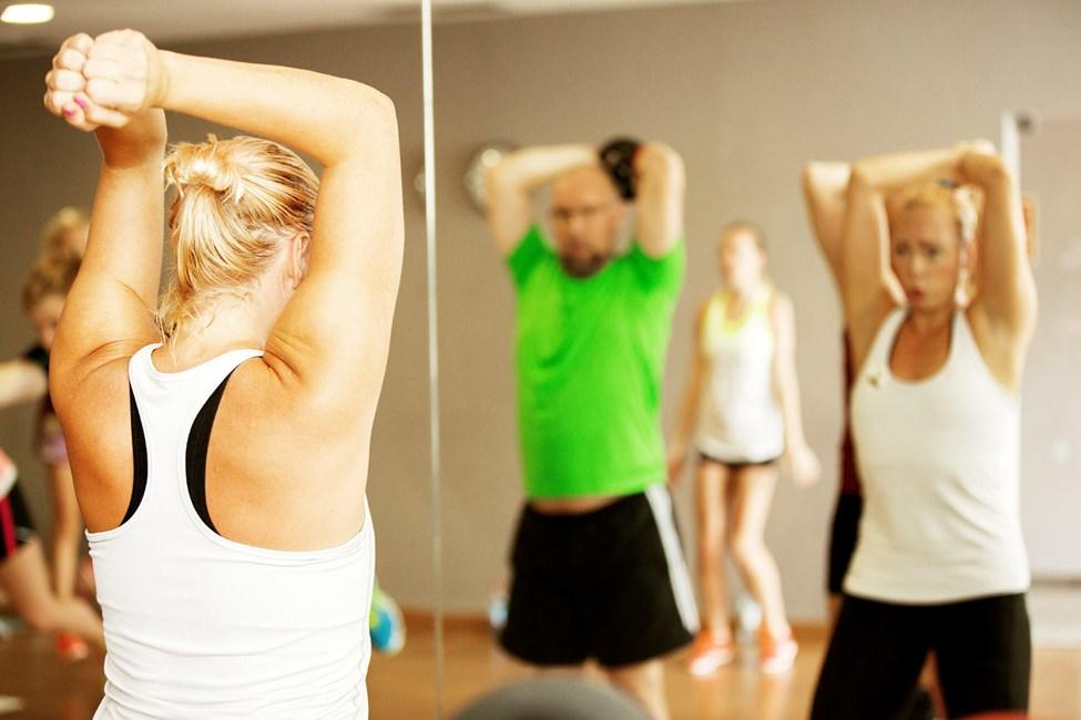 På Sunprime kan du være med på treningstimer