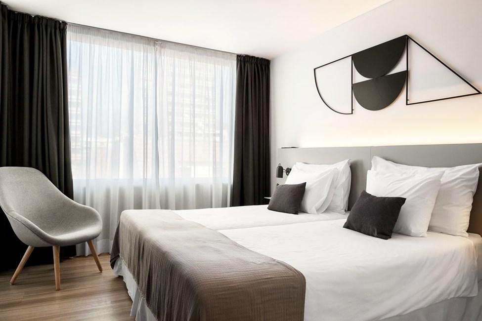 Junior Suite 2 rom med balkong mot omgivelsene
