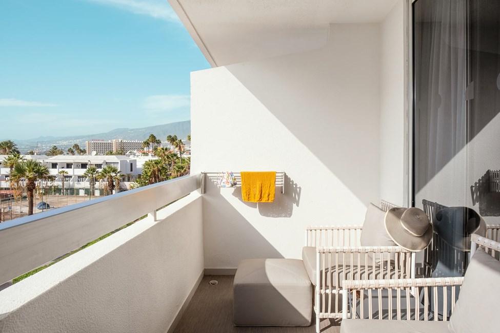 Classic Suite 1 rom med balkong mot omgivelsene