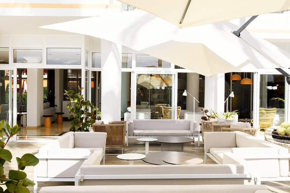Lounge ved à la carte-restauranten