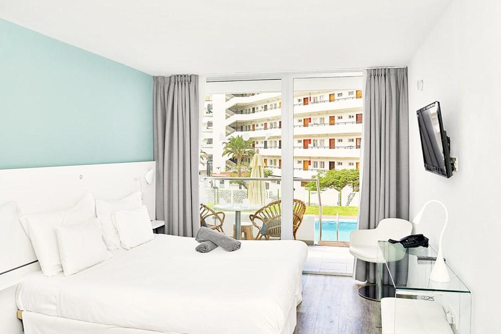 Prime Pool Suite, 1 rom, med direkte utgang til delt, privat basseng
