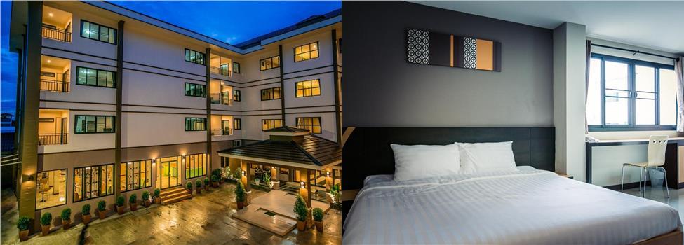 De Hug Hotel & Residence, Chiang Rai, Nord-Thailand, Thailand