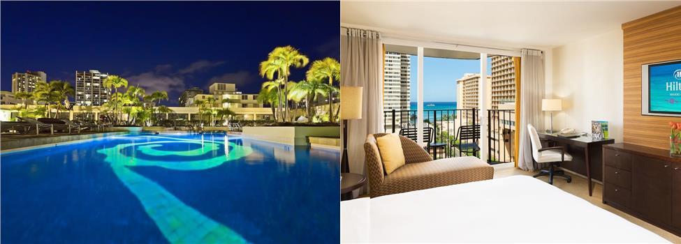 Hilton Waikiki Beach, Honolulu, Hawaii, USA