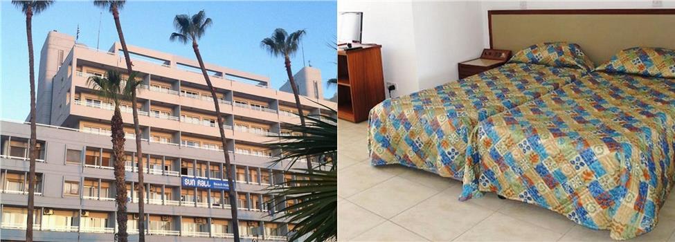 Sun Hall Beach Apartments, Larnaca, Kypros, Kypros