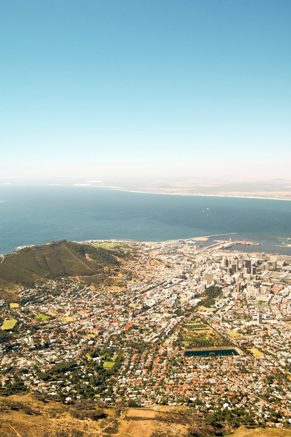 Table Mountain, Cape Town, Sør-Afrika