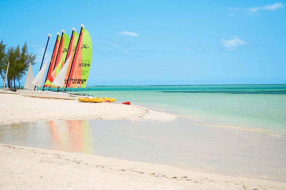 Stranden ved Paradis Hotel, Mauritius