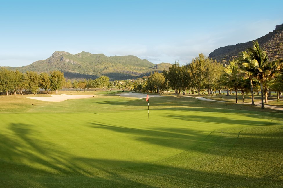 Golfbanen ved Paradis Hotel, Mauritius