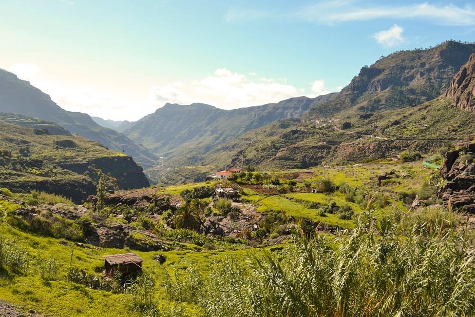 Presa de las Niñas (Tejeda), Gran Canaria