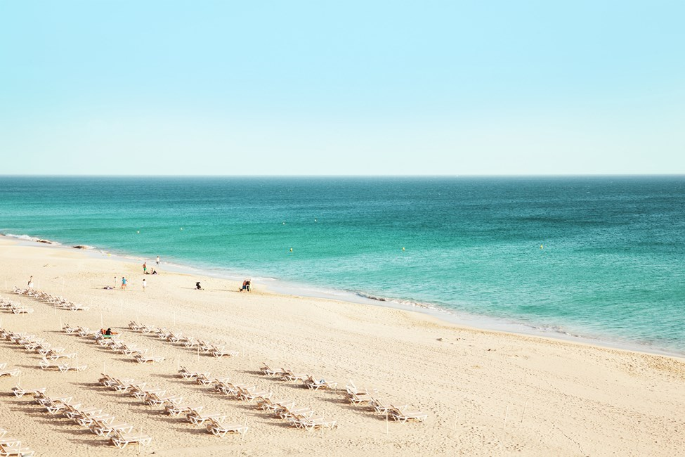 Sotovento-stranden, like ved Costa Calma, Fuerteventura