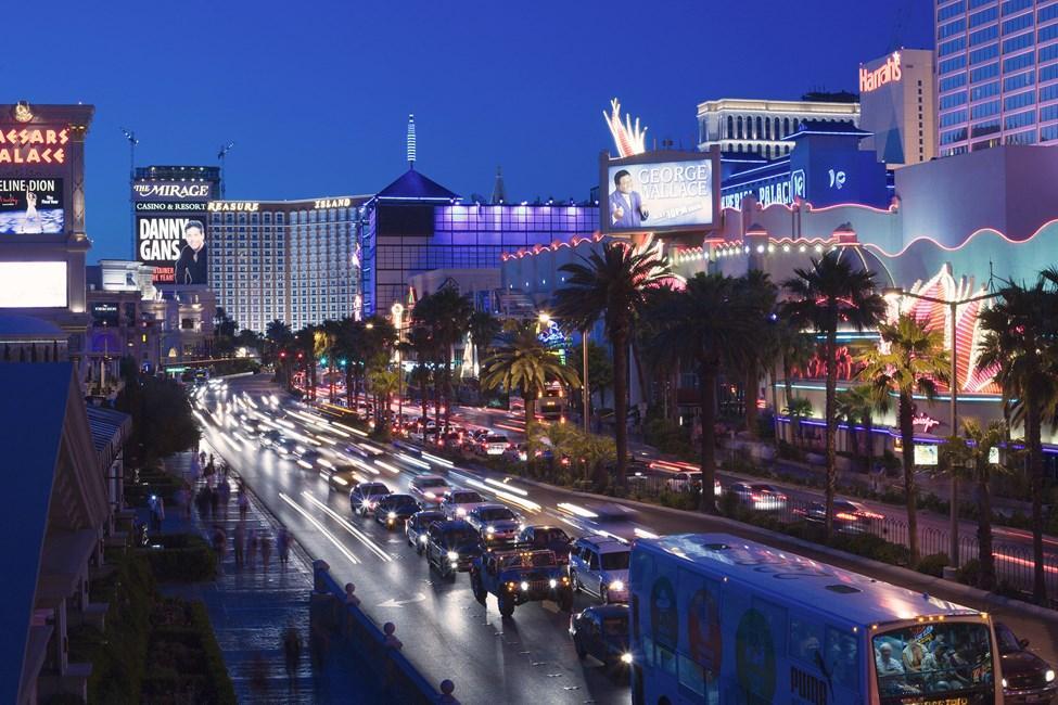 Hovedgaten The Strip, Las Vegas