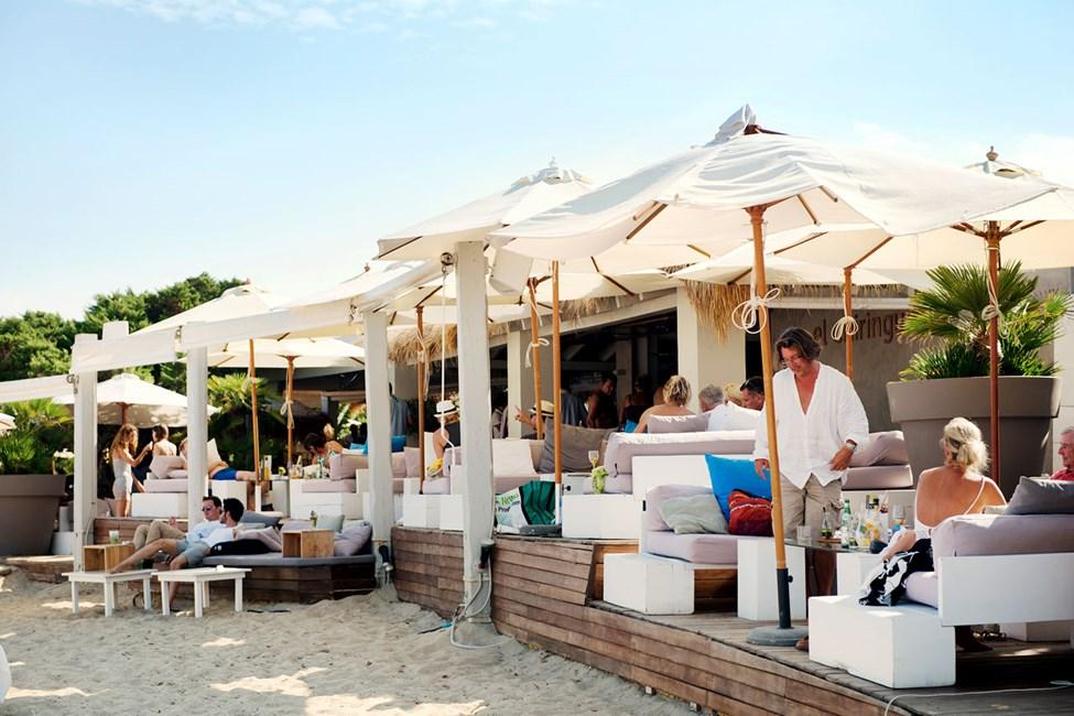 Playa des Cavallet. I nærheten av Ibiza by.