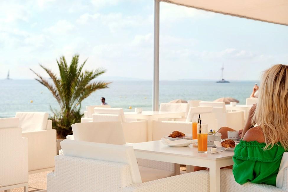 Restaurant Chill ved Hotel Garbi Ibiza Spa