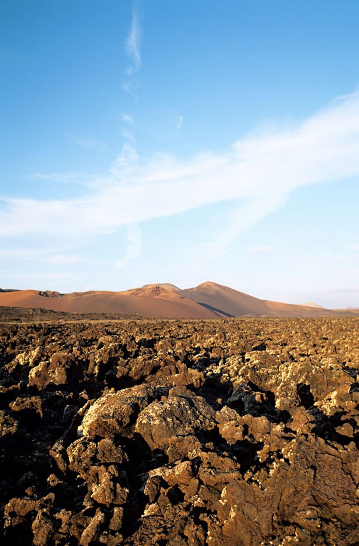 Najonalparken Timanfaya