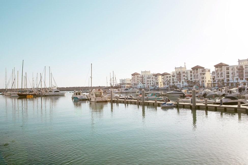 Havnen i Agadir