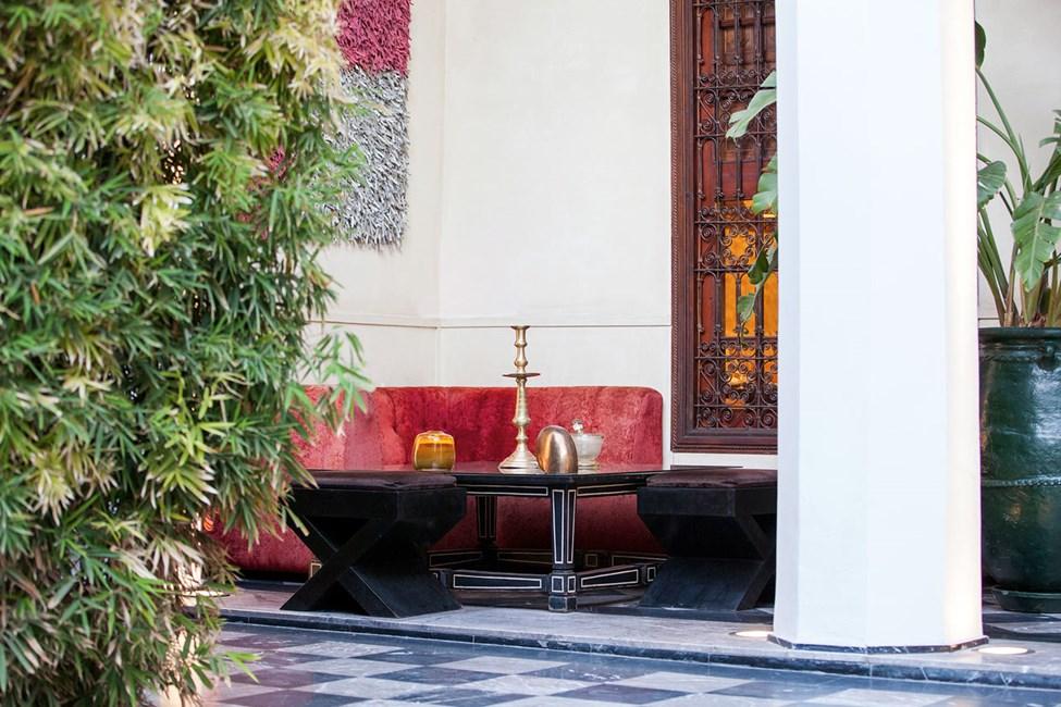 Restauranten Riad Lotus Privilege.