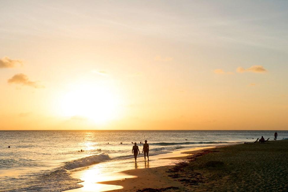 Solnedgang ved Divi Aruba All Inclusive