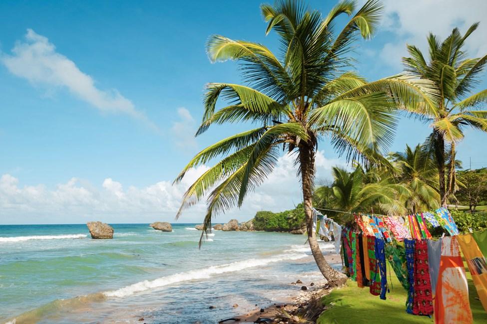 Stranden St. Martins Bay på Barbados' sydøstkyst